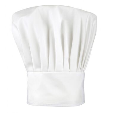 kinderkoksmuts Chef deluxe junior wit one size