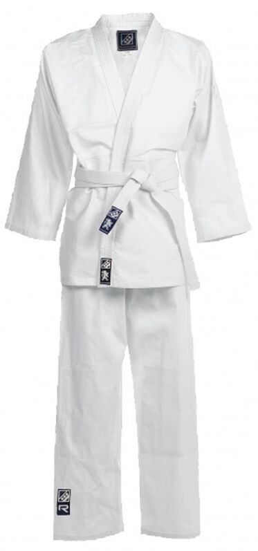 judopak Tyro II junior wit maat 1