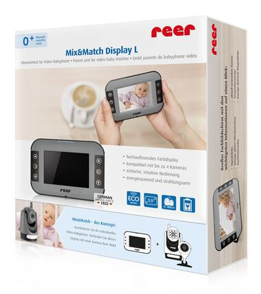 Video babyfoon Mix&Match Display L-ouderunit voor (3,5-inch)
