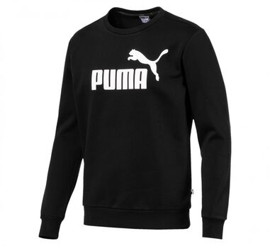 Puma - Heren Sweaters Basic  Sweat Zwart