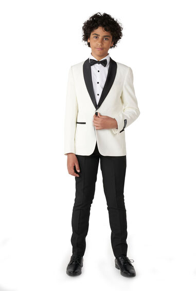 Opposuits Teen boys pearly white
