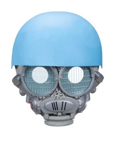 voicechanger Mask Sqweeks blauw