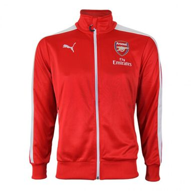Arsenal jack T7 Anthem heren rood maat S