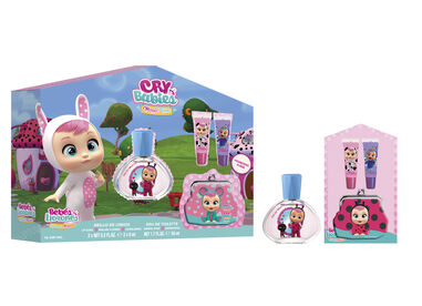 Cry Babies Set EDT 50 ml + 2 Lipgloss + Coin Purse