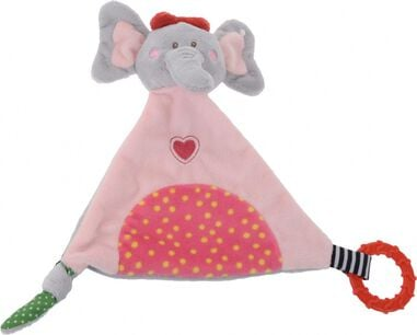 Tender Toys knuffelolifant roze 22 cm