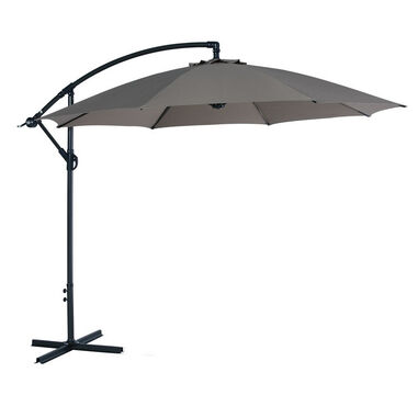 Garden Impessions Athene parasol 300 cm polyester taupe