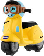 Chicco speelgoedmotor Vespa Primavera junior geel