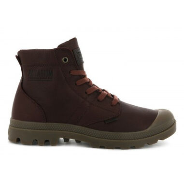 Palladium Men pallabrousse leather burnt ochre bruin