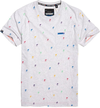 Superdry heren t-shirt palmboom
