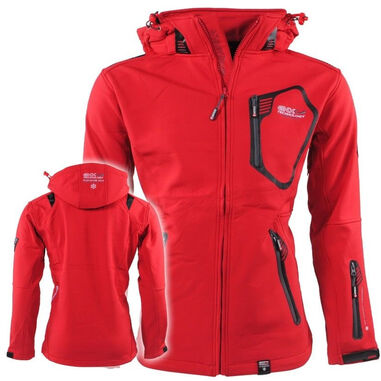 Geographical Norway heren softshell jas tanada - rood