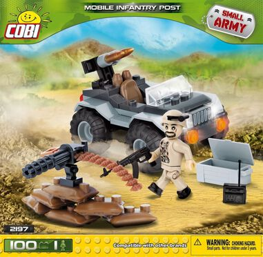 Cobi Small Army Mobile Infantry Post bouwset 100-delig 2197