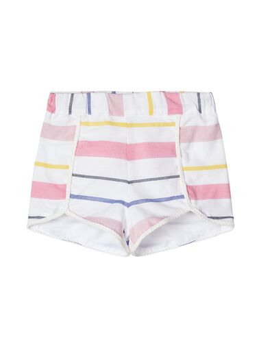 Name it Shorts gestreepte katoenen