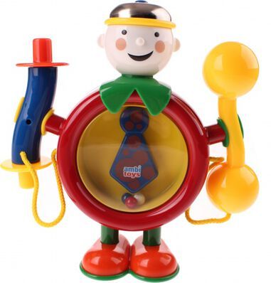 Ambi Toys One Man Band 21 cm rood