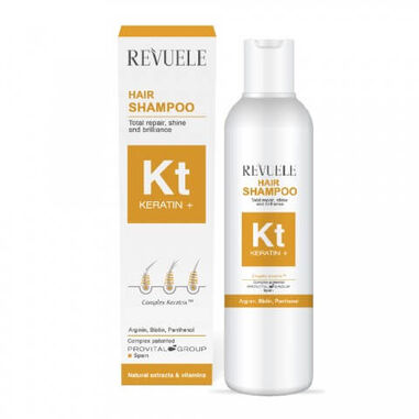 Revuele Keratin+ Hair Shampoo 200ml.