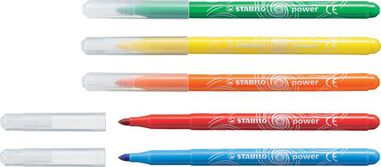 STABILO power viltstift etui 24 stuks