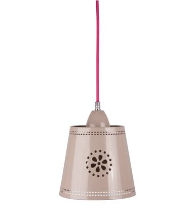 LIEF! Lifestyle hanglamp klein taupe