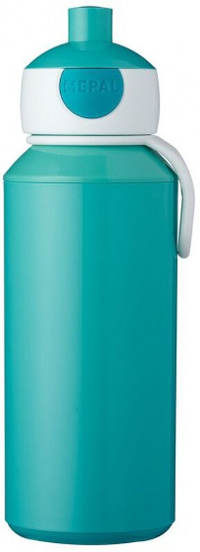 Rosti Mepal pop-updrinkfles Campus 400 ml turquoise