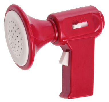 Free and Easy megafoon 7 cm rood