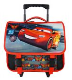 Disney trolley-rugzak Cars Pistoncup 3D 8 liter zwart/rood