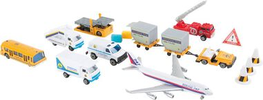 Small Foot modelauto´s Luchthaven 18-delig