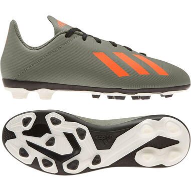 Adidas X 19.4 fxg kids green orange groen