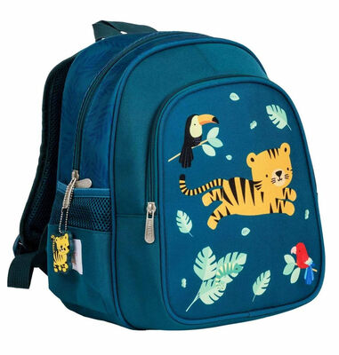A Little Lovely Company rugzak Jungle junior 13 liter polyester groen