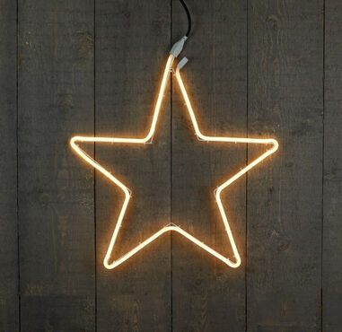 2 stuks Neonverl ster 54cm 180led warm wit Anna's collection