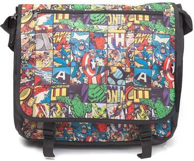 schoudertas Marvel Comics 7,5 liter multicolor