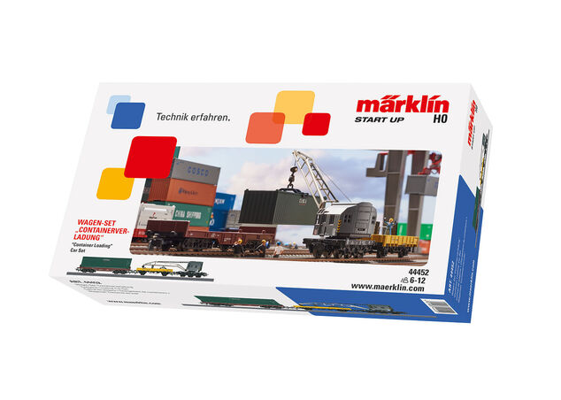 Marklin Start Up wagonset containervervoer 35,8 cm