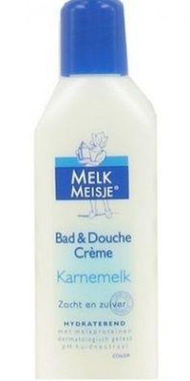 Melkmeisje Mini Bad & Douche Creme - Karnemelk 50 ml