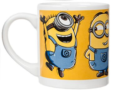 warmtemok Minions 230 ml geel