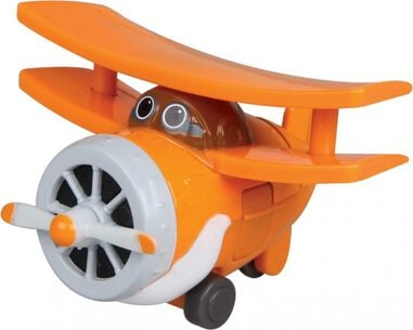 Super Wings model Die-cast Grand Albert 8 cm oranje