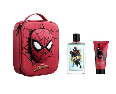 Spiderman Zip Case EDT 100 ml + Shower Gel 60 ml
