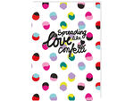 Happy Go Lucky schrift A5 hardcover
