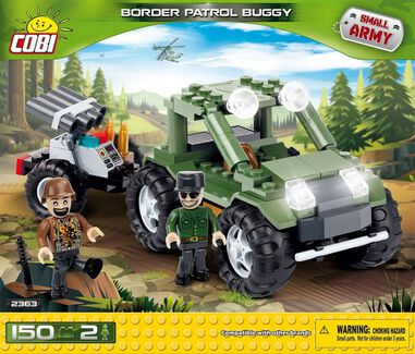 Cobi Small Army Border Patrol Buggy bouwset 150-delig 2363