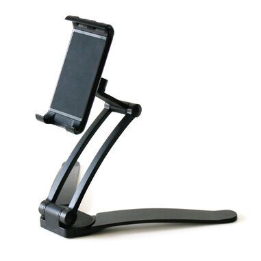Desire2 View 2-in-1 Portable Freestanding Tablet Mount Black