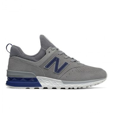 New Balance Men ms574 d flint grey grijs