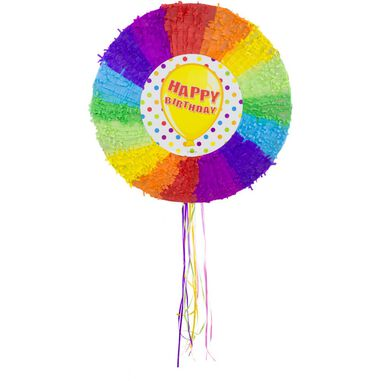 Pinata Happy Birthday Ballon 48 cm