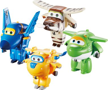 Speelfiguren Mini Super Wings 4-pack