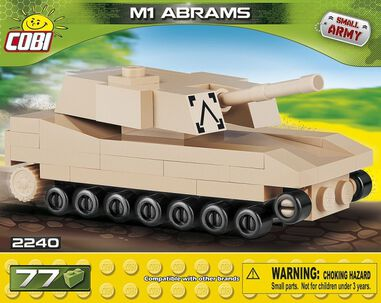 Cobi Small Army M1 Abrams bouwset 77-delig 2240