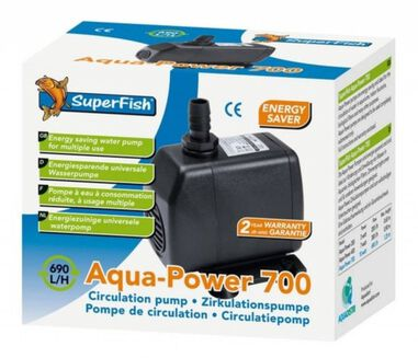 Aqua-Power 700 liter circulatiepomp