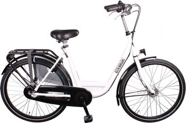 ID Personal 26 Inch 50 cm Dames 3V Rollerbrakes Wit
