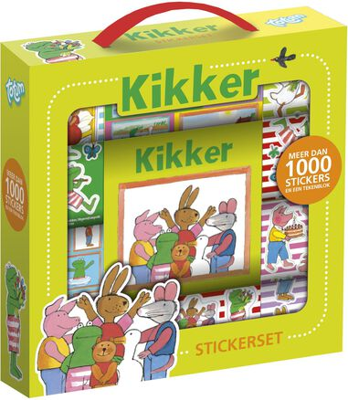 Sticker box Kikker ToTum 1000+ stickers