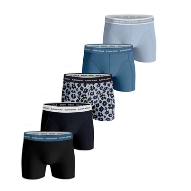 Björn Borg 5-pack boxershorts Four Fowers - bauw