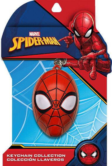 Spiderman 3D metalen Sleutelhanger