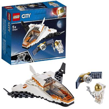LEGO 60224 City Space Satelliettransportmissie