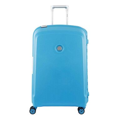 Delsey Belfort Plus 4 Wiel Trolley 70 teal blue