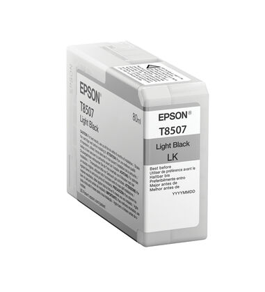 Epson T850700 80ml Licht zwart inktcartridge