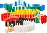 Small Foot Domino Rally junior hout 490-delig