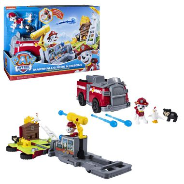 Paw Patrol Ride N Rescue Vehicle Marshall